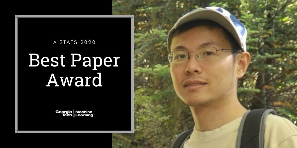 Molei Tao best paper award